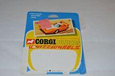 Corgi Toys Juniors No 59 The Futura card only