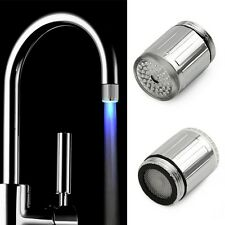 New Automatic 7 Color LED Changing bright Light Home Bathroom Shower Water Head
