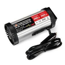 INVERTER TRASFORMATORE CORRENTE DA 12V A 220V CON PRESA USB POTENZA 200W LAMPA