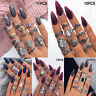 Bohemian Vintage Midi Finger Knuckle Rings Set Silver Finger Ring Jewelry GiftCR