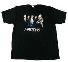 Maroon 5 Band Photo 2008 Asia/Australia Tour Tee - Alstyle T-Shirt - Black - L