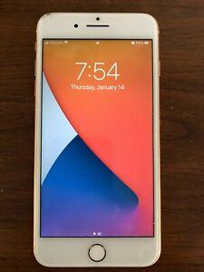 iPhone 8 Plus Rose Gold 128GB 5.5 Inch (Version 14.2) Smartphone