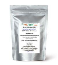 Selen / Selenium 200 mcg & ACE - 750 Tabletten - PN: 0710211 - VITASCOUT®