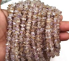 """Awesome Quality 16""""Long Natural Ametrine Uncut Chips Beads 5-9 MM Making Jewelry"""