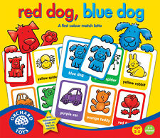 Orchard Toys Red Dog, Blue Dog - Award Winning First Lotto Game - NEW