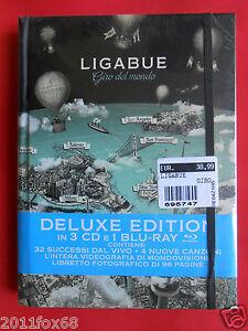 luciano ligabue live box set ligabue giro del mondo deluxe edition 3 cd+ blu ray