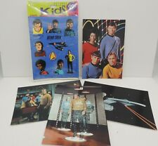 Vintage Star Trek Original Series Stickers Postcards