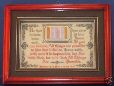 "NEW! BIBLE VERSE PLAQUES/SIGNS ""WITH GOD ALL THINGS ARE POSSIBLE"" CHRISTIAN GIFT"