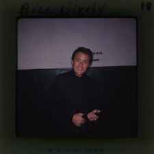 BILL BIXBY RARE CANDID 1960'S ORIGINAL SUPER 127 FORMAT TRANSPARENCY SLIDE