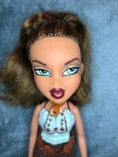 Bratz Yasmin Strut It Doll Top Skirt Necklace Belt Redressed Shoes