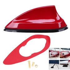 Flosse Stil Rot Auto Antenne Dachantenne Verstärke Empfänger Antennenabdeckung