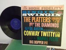 """Singin'&Swingin'"",Merc./Wing,US,LP,mono,Platters,Diamonds,Big Bopper,+more,M-"