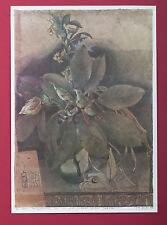 Horst Janssen: Abschied Kerstin - Plakat Blumen, handsigniert mit Widmung 1979