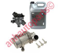 OEM BMW Electric Engine Water Pump ,OEM Thermostat,3-Bolt kit+Antifreeze BMW