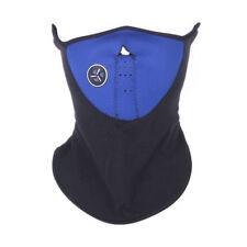 Fleece Vented Face Mask Black Blue WINTER Ski Biker Hunting Hiking ATV Unisex