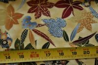 """21"""" Long, Metallic-Gold Leaves Quilt Fabric/Kaufman/Imperial Collection N4477"""
