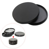 40.5-82mm 43 46 49 52 55 58mm Protective Screw-in Metal Lens Filter Case Cap
