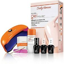 SALLY HANSEN Salon Gel Polish Starter Kit SHALL WE DANCE With LED Lamp NIB