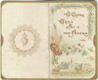 """Lotto n. 2 Libretti Religiosi """"O cuore di Gesù sii il Mio Amore"""" e """"A S.Giuseppe"""
