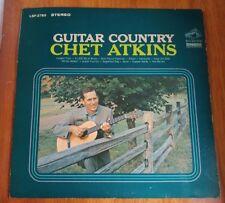 Chet Atkins Guitar Country Vinyl LP Freight Train Kentucky Vaya con Dios Dobro
