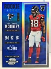 Takkarist McKinley 2017 Contenders Optic RC #95 BLUE Prizm Refractor /99 FALCONS