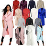 JUSTYOUROUTFIT WOMENS  WATERFALL DRAPED LADIES COAT BELT JACKET CAPE CARDIGAN