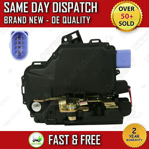 VW NEW BEETLE (CONVERTIBLE) 2003>2010 FRONT RIGHT DRIVER CENTRAL DOOR LOCK