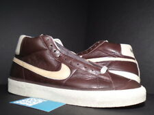 2002 Nike Dunk SB BLAZER LEATHER MID PAUL BROWN NET TAN BAROQUE 304712-211 DS 14