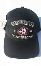 RARE NWT LOGO ATHLETIC BUFFALO SABRES 1999 STANLEY CUP CHAMPIONS STRAPBACK HAT