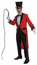Ringmaster Costume Mens Circus Fancy Dress Lion Tamer Medium Fits 38 - 40 Chest