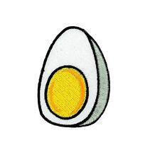Patch toppe toppa ricamate termoadesiva softair airsoft kawaii uova uovo