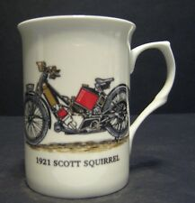1 Scott Squirrel 1921  Motorbike Fine Bone China Mug Cup Beaker