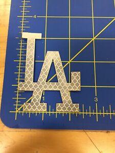 LA Dodgers 3m Batting Helmet Decal Carbon Fiber Pro Combat Edition Reflecti
