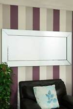 Large Wall Mirror Classic Venetian Bevelled Bargain 5Ft9 X 2F9 174cm x 85cm