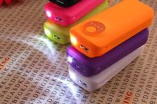 E15 - External 5600mAh Portable LED Power Bank Mobile Phone USB Device Charger.