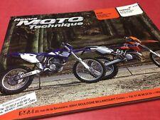 Revue Moto Technique Yamaha WR400F KTM 250 300 GS EGS EXC ETAI N° 117