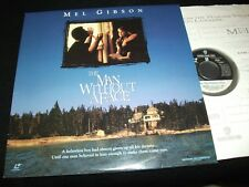 """THE MAN WITHOUT A FACE ° MEL GIBSON <> 12"""" Laserdisc <> WB  VIDEO  12987"""