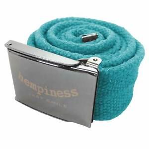 Hempiness Organic Hemp Webbing Buckle Belt | Sustainable, Ethical, Eco-Friendly