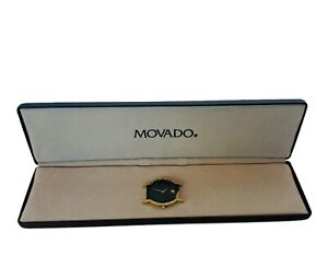 Movado Watch Face Black Gold 87-40-870 for wristwatch with case 1042161 Swiss