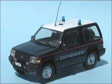 Carabinieri Mitsubishi Pajero Montero Policia 1/43 De Agostini cochesaescala