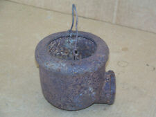 Antique Rustic Farm Hand Water Well Pump 2394 Conductor Cup Old Windmill Decor