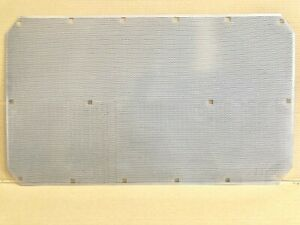1996-2003 VOLVO VN / VNL ONE PIECE STAMPED 304 STAINLESS BUG SCREEN