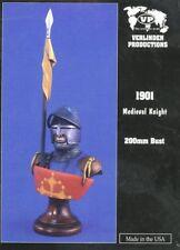 Verlinden 200mm Medieval Knight Resin Bust Kit #1901