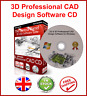 2019 2D 3D CAD - USES AUTOCAD DWG FILE - COMPUTER AIDED DESIGN WINDOWS SOFTWARE