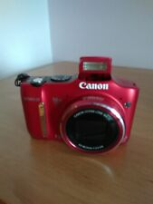Red Canon SX 160 IS Camera (Comes with holder, CD and Instruction Booklet)