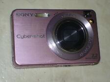 Very Nice SONY CyberShot DSC-W120 7.2MP Digital Camera Pink