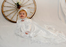 """Heather"" is a Truly Special Christening Gown from JennysAngels"