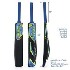 New Full 34 Inch Hard Plastic Cricket Bat