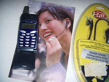 ERICSSON T29s GREY GSM ORIGINALE UNICO AGGIORNATO + BATTERIA ORIGINALE ACCESSORI