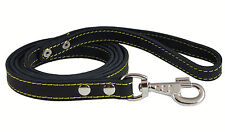 """Genuine Thick Leather Dog Leash 6' Long, 3/4"""" wide, for Xlarge Breeds"""